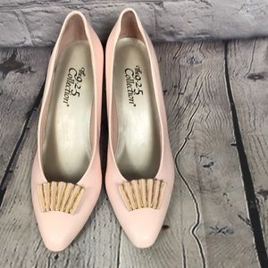 Pink Wedding dress shoes